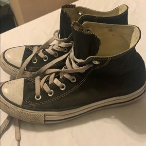 Wom 8 Men's 6 Converse High Top All Star Sneakers